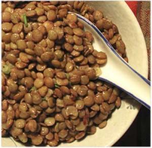 nutritious lentils