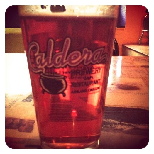 Caldera Hibiscus Ginger Beer